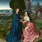 Workshop of the Master of 1518 – The Visitation of the Virgin to Saint Elizabeth, Part 6 National Gallery UK