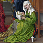 Rogier van der Weyden – The Magdalen Reading, Part 6 National Gallery UK