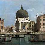 Part 2 National Gallery UK - Follower of Canaletto - Venice - S. Simeone Piccolo