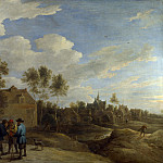 Part 2 National Gallery UK - David Teniers the Younger - A View of a Village