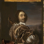 Part 2 National Gallery UK - Frans van Mieris the Elder - Self Portrait of the Artist, with a Cittern