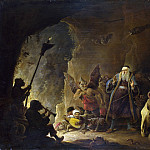 Part 2 National Gallery UK - David Teniers the Younger - The Rich Man being led to Hell