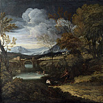 Crescenzio Onofri – Landscape with Fishermen, Part 2 National Gallery UK