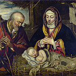 Part 2 National Gallery UK - Follower of Jacopo Tintoretto - The Nativity