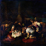 The Adoration of the Shepherds, Jacopo Bassano