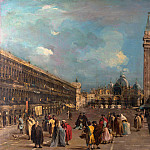 Part 2 National Gallery UK - Francesco Guardi - Venice - Piazza San Marco