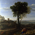 Part 2 National Gallery UK - Claude - Landscape with David at the Cave of Adullam