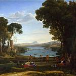Part 2 National Gallery UK - Claude - Landscape with the Marriage of Isaac and Rebecca