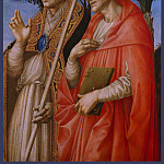 Part 2 National Gallery UK - Francesco Pesellino and completed by Fra Filippo Lippi and Workshop - Saints Zeno and Jerome