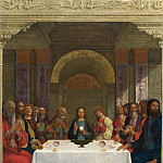 Ercole de Roberti – The Institution of the Eucharist, Part 2 National Gallery UK