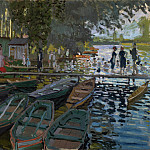 Part 2 National Gallery UK - Claude-Oscar Monet - Bathers at La Grenouillere