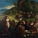 Part 2 National Gallery UK - Dosso Dossi - A Bacchanal