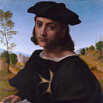Part 2 National Gallery UK - Franciabigio - Portrait of a Knight of Rhodes