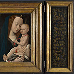 Part 2 National Gallery UK - Follower of Hugo van der Goes - Virgin and Child