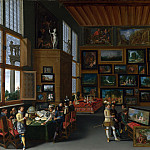 Part 2 National Gallery UK - Flemish - Cognoscenti in a Room hung with Pictures