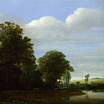 Cornelis Vroom – A Landscape with a River by a Wood, Part 2 National Gallery UK