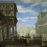 Part 2 National Gallery UK - Dirck van Delen - An Architectural Fantasy