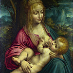 Part 2 National Gallery UK - Follower of Leonardo da Vinci - The Virgin and Child
