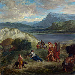 Part 2 National Gallery UK - Eugene Delacroix - Ovid among the Scythians