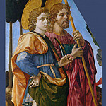 Part 2 National Gallery UK - Francesco Pesellino and Fra Filippo Lippi and Workshop - Saints Mamas and James