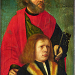 Part 2 National Gallery UK - Followers of Gerard David - Saint Peter and a Donor