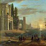 Part 2 National Gallery UK - Claude - A Seaport