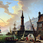 A Seaport, Claude-Joseph Vernet