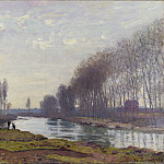 Part 2 National Gallery UK - Claude-Oscar Monet - The Petit Bras of the Seine at Argenteuil