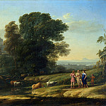 Part 2 National Gallery UK - Claude - Landscape with Cephalus and Procris reunited by Diana