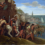 Part 2 National Gallery UK - Follower of Giulio Romano - The Attack on Cartagena