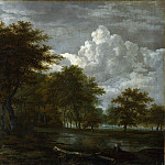 Part 2 National Gallery UK - Follower of Jacob van Ruisdael - The Skirts of a Forest