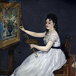 Part 2 National Gallery UK - Edouard Manet - Eva Gonzales