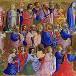 Part 2 National Gallery UK - Fra Angelico - The Virgin Mary with the Apostles and Other Saints