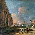Part 2 National Gallery UK - Francesco Guardi - A View near Venice