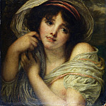 Part 2 National Gallery UK - Follower of Jean-Baptiste Greuze - A Girl