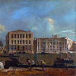 Part 2 National Gallery UK - Francesco Guardi - Venice - The Grand Canal with Palazzo Pesaro