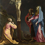 Part 2 National Gallery UK - Eustache Le Sueur - Christ on the Cross with the Virgin and Saints