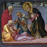 Part 2 National Gallery UK - Fra Filippo Lippi and workshop - Saint Zeno exorcising the Daughter of Gallienus