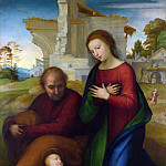 Part 2 National Gallery UK - Fra Bartolommeo - The Virgin adoring the Child with Saint Joseph
