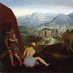Part 2 National Gallery UK - Follower of Giulio Romano - The Continence of Scipio