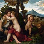Part 2 National Gallery UK - Follower of Titian - Mythological Scene