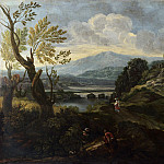 Crescenzio Onofri – Landscape with Figures, Part 2 National Gallery UK