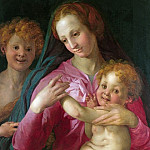 Part 2 National Gallery UK - Follower of Pontormo - The Madonna and Child with the Infant Baptist