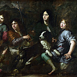 Part 2 National Gallery UK - Dutch - Sportsmen Resting