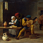 Part 2 National Gallery UK - David Teniers the Younger - Peasants making Music in an Inn
