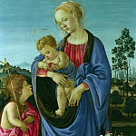 The Virgin and Child with Saint John, Filippino Lippi
