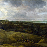 Part 2 National Gallery UK - Cornelis van der Schalcke - An Extensive River Landscape