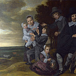 Part 2 National Gallery UK - Frans Hals - A Family Group in a Landscape