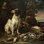 Part 2 National Gallery UK - David de Coninck - Dead Birds and Game with Gun Dogs and a Little Owl