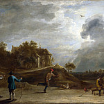 Part 2 National Gallery UK - David Teniers the Younger - Peasants at Archery